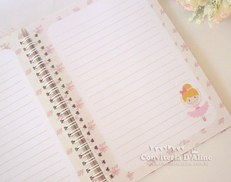 caderno de recados personalizado provençal
