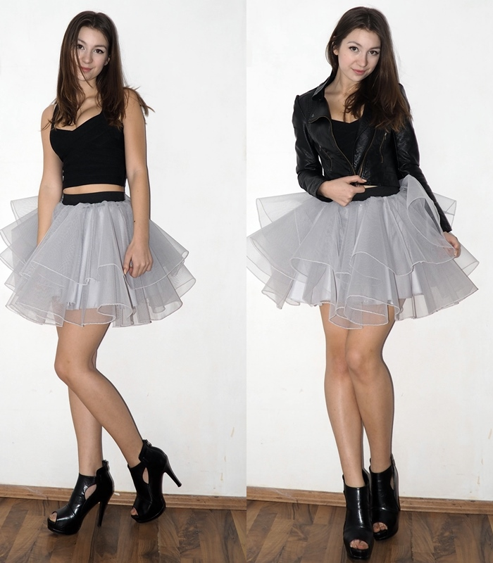 tutu, tulle skirt outfit