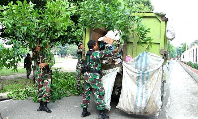 Peduli Lingkungan, Kodim 0104 Aceh Timur Gelar Karya Bhakti