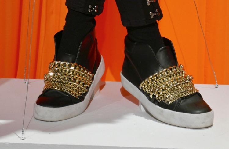Crazy Ex-Girlfriend season 4 rap costume shoes