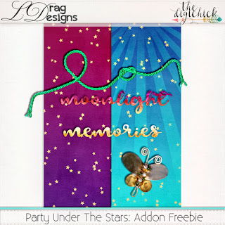 Creative Team for LDrag Designs -   Party Under the Stars and Coordinating Freebie