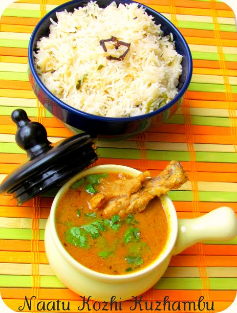 Country style Chicken Curry
