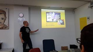 Francisco Tapia en el Meetup Dédalo