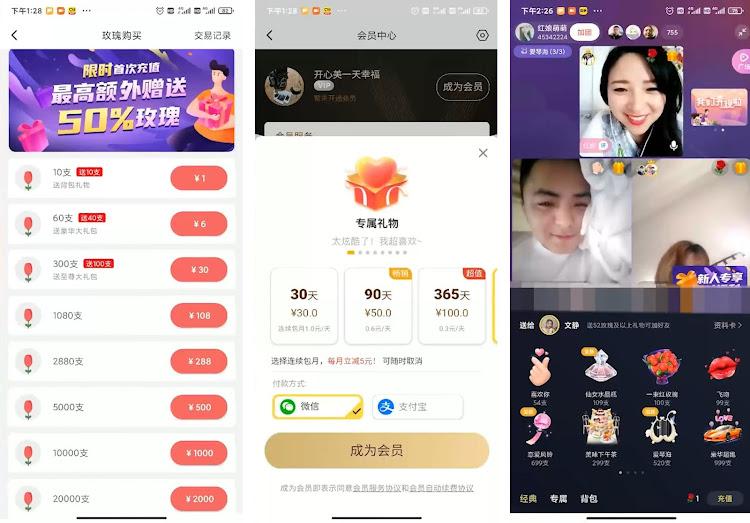 Три варианта монетизации сервиса YiDui