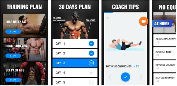 Six Pack in 30 Days - Abs Workout