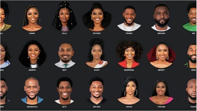 Find out all about the 21 housemates for BBNaija season 4 that kisked off on Sunday [Photos] | Alabosi.com
