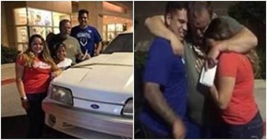Children Surprise Dad With The Car He Sold To Pay For Their Mom's Treatment