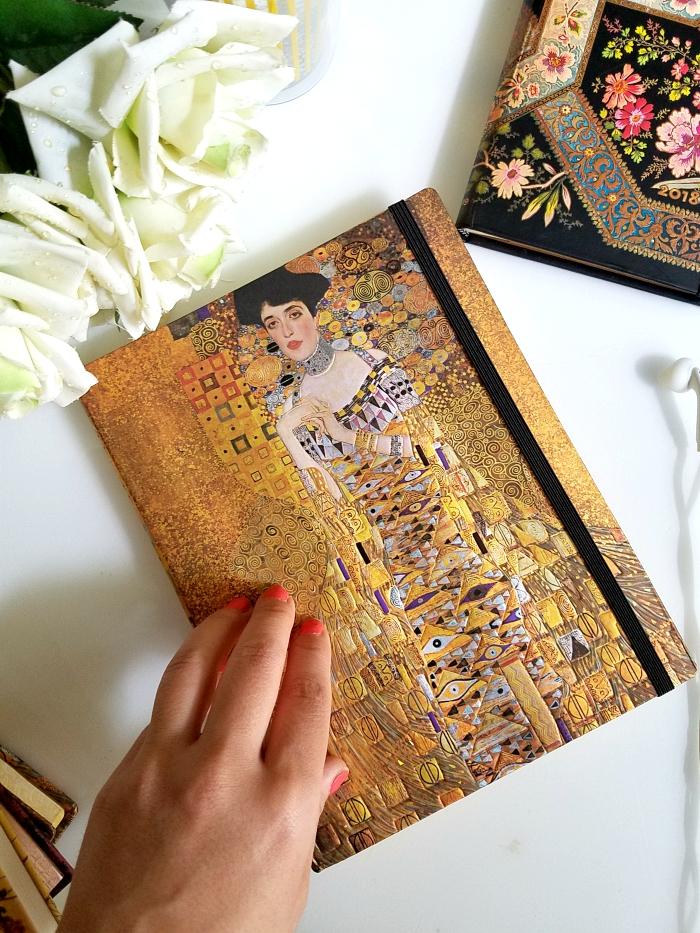 paperblanks Klimt´s 100. Todestag Portät von Adele Ultra Notizbuch liniert - 27.95 Euro