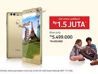Huawei P9 Leica Smartphone Dual Kamera Utama 12 MP Harga Rp 5 Jutaan