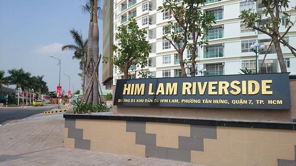 Him Lam hoạt động trong nhiều lĩnh vực bất động sản