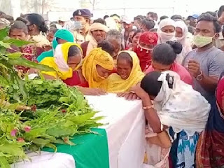 जगदलपुर में केंद्रीय गृह मंत्री अमित शाह ने दी शहीदों को श्रद्धांजलि