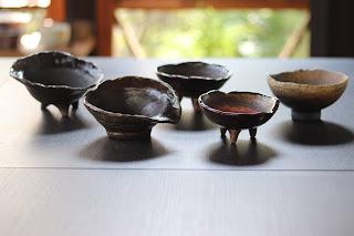 山野草盆栽の鉢 陶芸体験教室 完成鉢