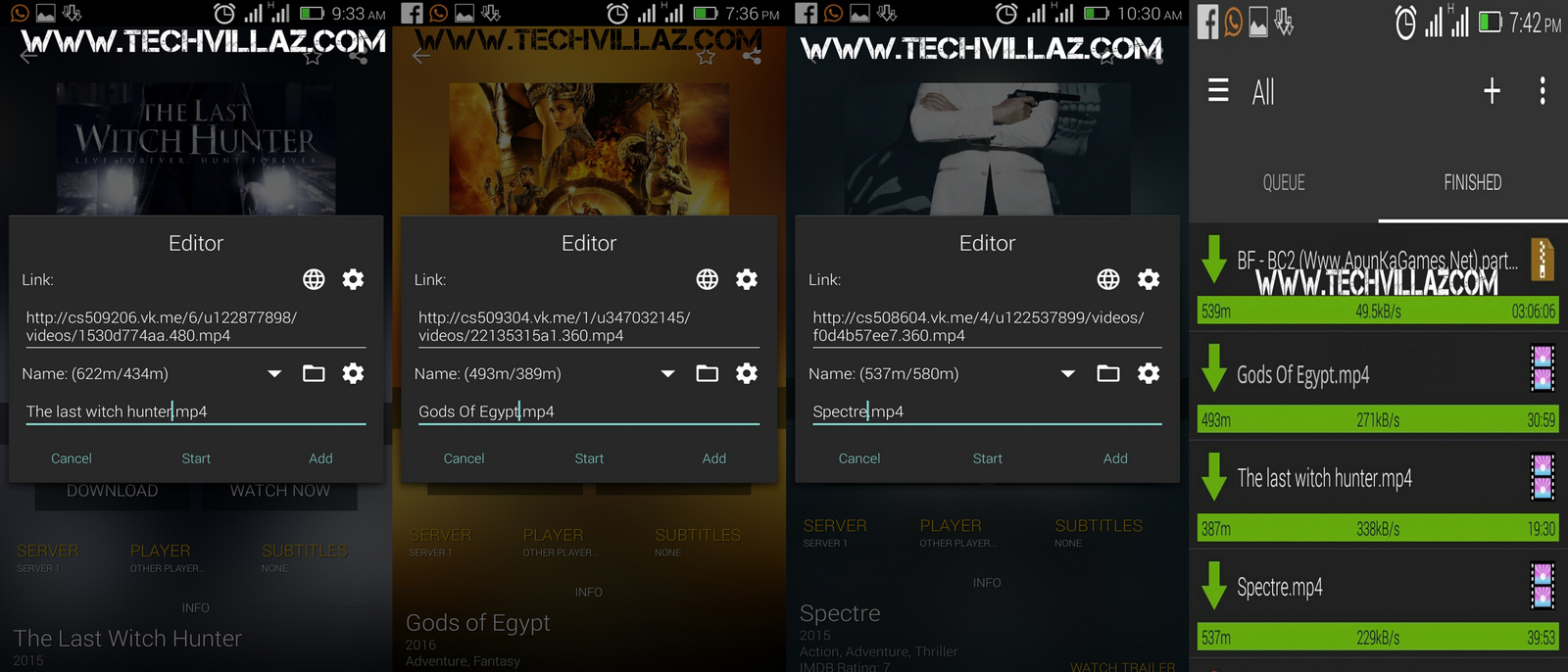 See Below Screenshots Of Showbox Movies I Have Easily Downloaded Using Adm  With No Waste Of