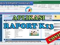 Aplikasi Raport K13 Kondisi Darurat Khusus Covid 19