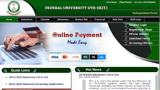 How to gain admission into fuoye