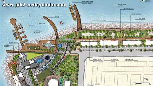 Master Plan Sedayu Indo City PIK 2 Waterfront Jakarta Utara