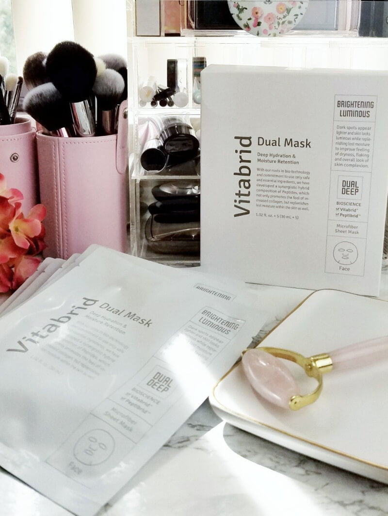 Vitabrid Dual Mask Luxury Hydrating Sheet Masks are Perfect for Dry and Mature Skin 1