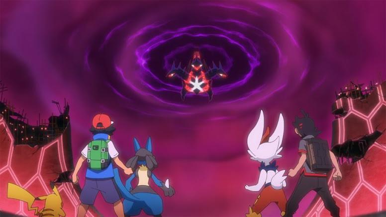 Eternatus Darkest Day Anime Pokémon
