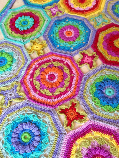 Carousel Secret Blanket - Free Pattern