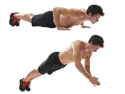 Plyometric push-ups