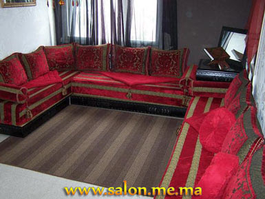 salon marocain moderne bord grenat 2013 d coration salon marocain moderne 2016. Black Bedroom Furniture Sets. Home Design Ideas