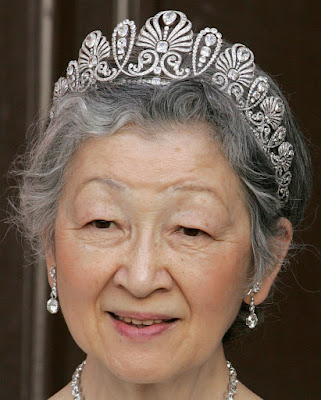 diamond honeysuckle tiara japan princess chichibu empress michiko