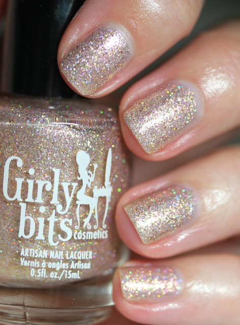 Girly Bits Cosmetics CoTM July 2017 Sand of a Beach
