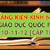 Sáng kiến kinh nghiệm môn Giáo dục Quốc phòng cấp THPT (SKKN môn Giáo dục Quốc phòng lớp 10, 11, 12)