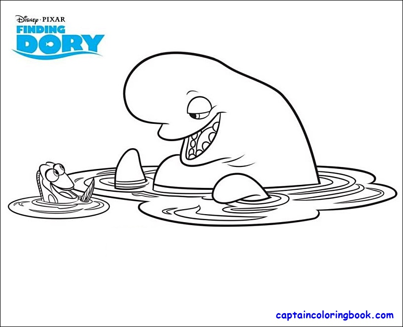 - Coloring Page: Finding Dory Coloring Pages Pdf Download