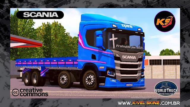 SCANIA P320 - SCANIA 60 ANOS EDITION