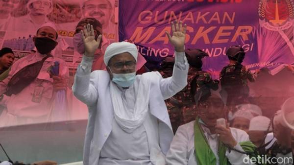 Sempat Ditunda, Sidang Kasus Habib Rizieq Hari Ini Tetap Digelar Virtual