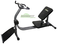 Nitrofit Limber Pro Stretch Machine, with adjustable seat, adjustable variable angle calf stretch board, dedicated calf stretch station,