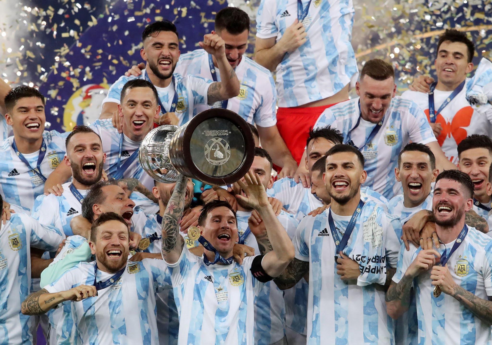 Argentina akhirnya juara Copa Amerika 2021!!!