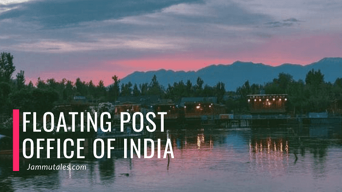 Floating Post office in India