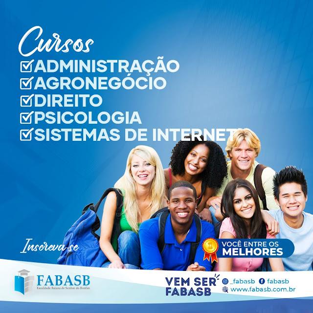 MEC LIBERA CURSO DE DIREITO PARA FABASB DE SENHOR DO BONFIM