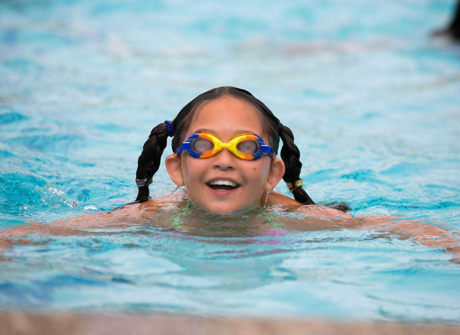 youth swimmer