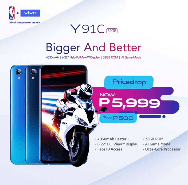Sale Alert: Vivo slashes Y91C's price down to PHP 5,999!