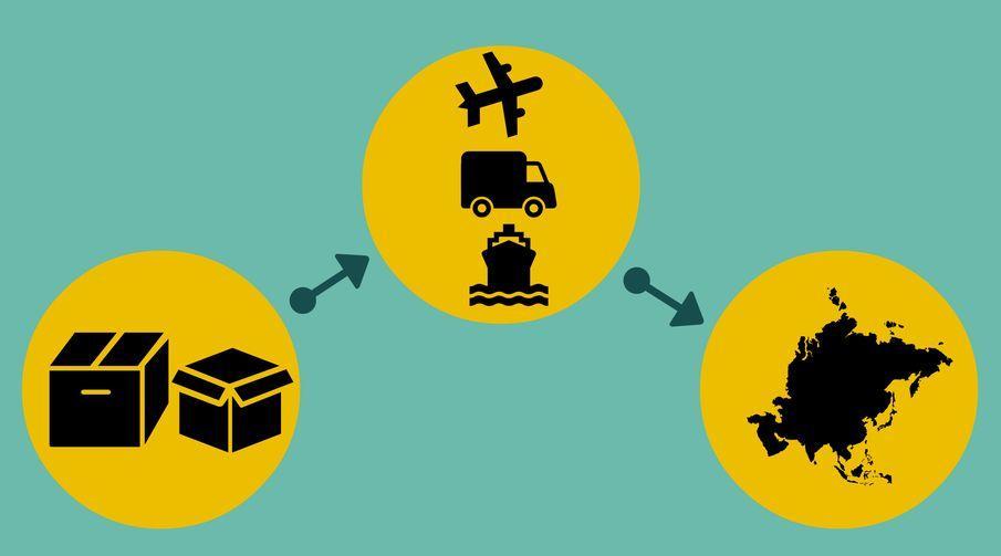 International Freight Forwarding, Jasa Pengurusan Dokumen danTransportasi Ekspor Impor