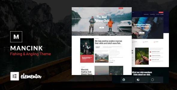 Best Fishing and Angling WordPress Theme