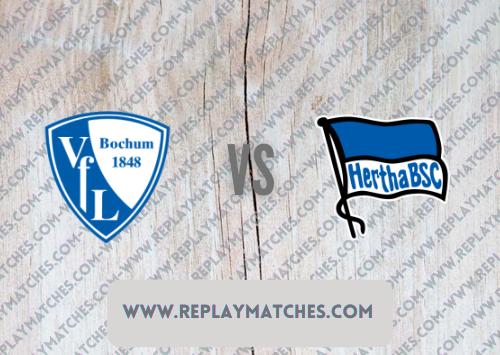 Bochum vs Hertha Berlin -Highlights 12 September 2021