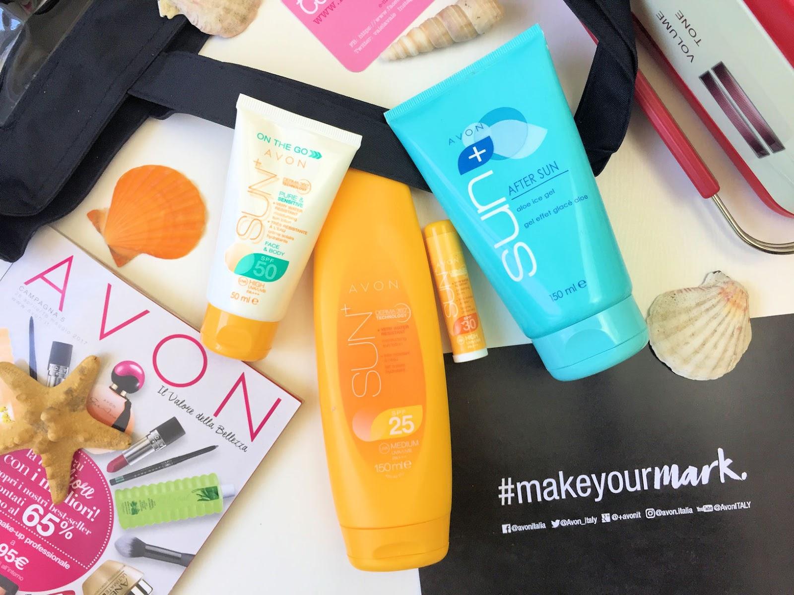 Come proteggere la pelle al mare: solari AVON SUN+ su Fashion and Cookies beauty blog, beauty blogger