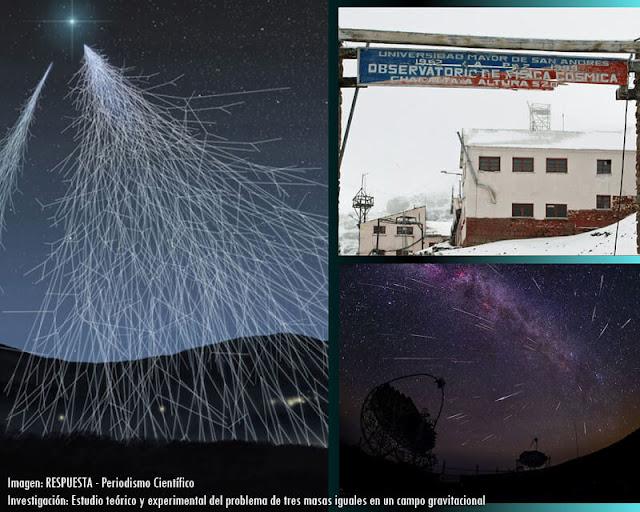 Observatorio rayos cósmicos Chacaltaya
