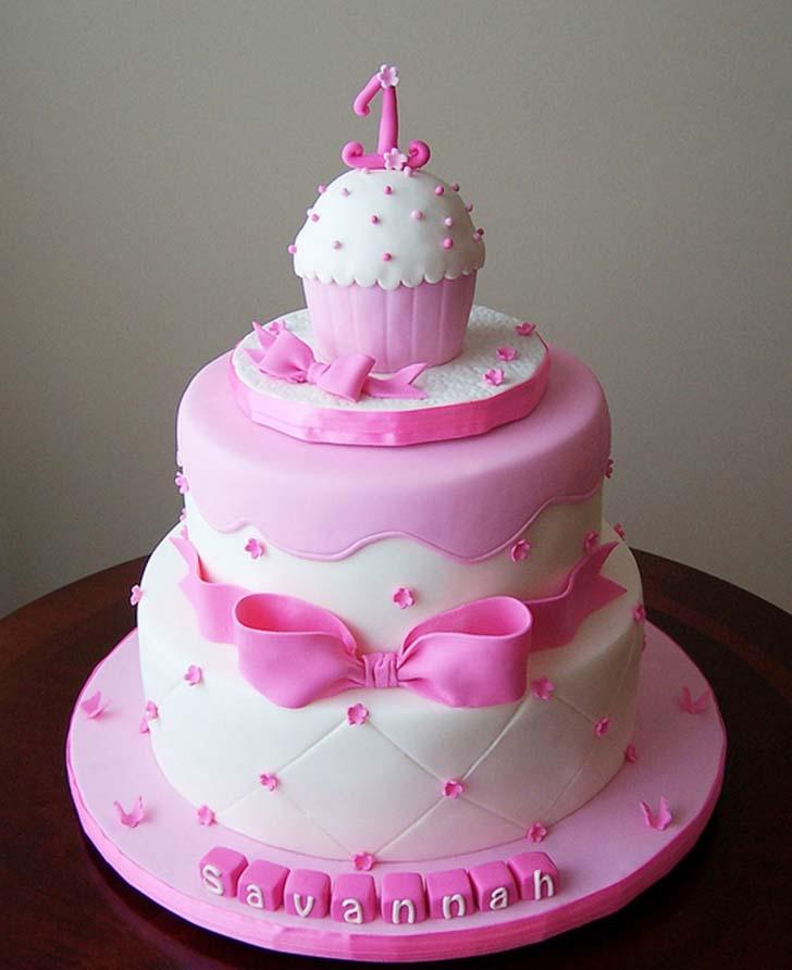 5 Girls Birthday Cake