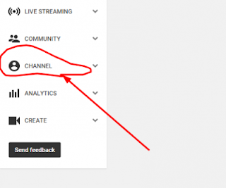 Now click on the enable option which is displayed before Monetization