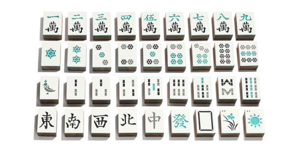 Tiffany & Co Mahjong Tiles