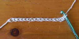 Tunisian Purl Stitch Foundation Chain