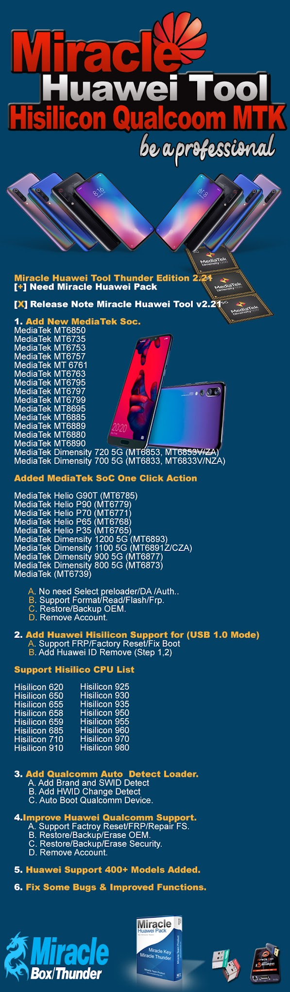 Miracle Huawei Tool v2.21