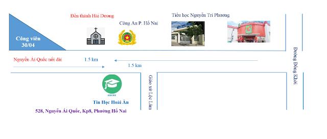 Địa chỉ giảng dạy chứng chỉ ứng dụng công nghệ thông tin tại Biên Hòa