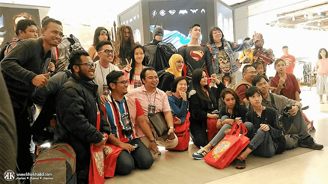 Justice League DC Cosplay Gathering, Sky Avenue, Resorts World Genting, Blogger Malaysia,