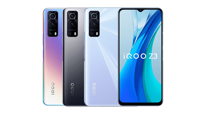 iQOO Z3 with SD768G, 5G, and 120Hz screen announced